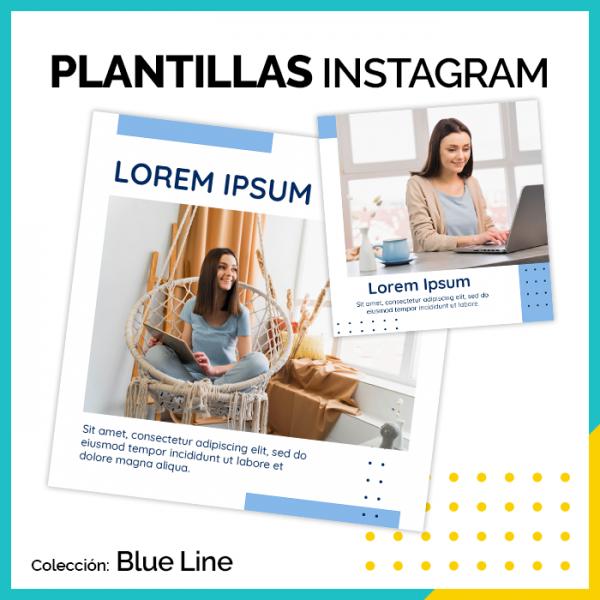 PLANTILLAS BLUE LINE